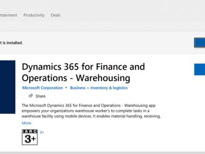 Warehouse App
