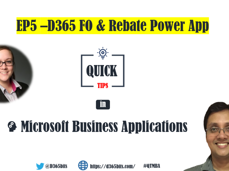 QTMBA-EP5-Rebate Power App